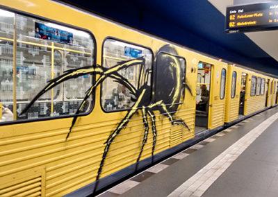 Graffiti in the U-Bahn