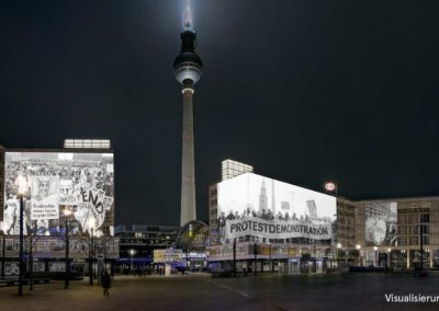 30 Fall of the Wall – Alexanderplatz